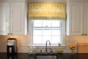 here are some ideas for your kitchen window treatments