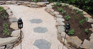 decorer son jardin avec des galets blancs le marbre de With decorer son jardin avec des galets
