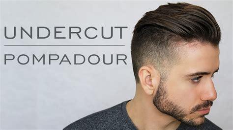 Modern Undercut Pompadour Tutorial   Men's Everyday