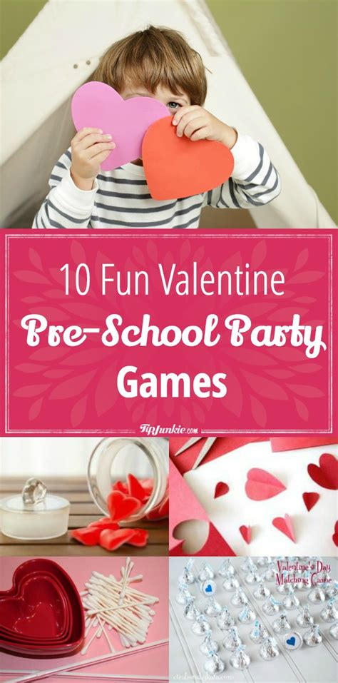 10 pre school tip junkie 803 | 10 Fun Valentine Pre School Party Games