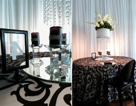 Beige Wedding Decor - mique s black and beige wedding decor