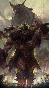 Garruk Beast Caller by LarizSantos on DeviantArt