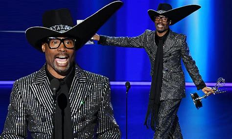 Billy Porter Makes History First Openly Gay Black Man