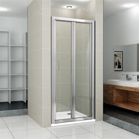 shower doors of new bifold shower enclosure bathroom walk in cubicle