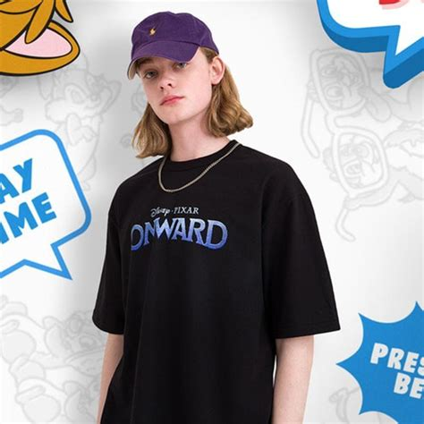 mainbooth  disney onward logo  shirt harumio