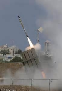 Iron Dome Israel Bombs Hamas