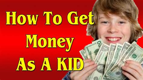 How To Get Money Fast As A Kid Youtube