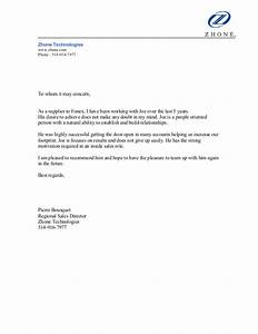 reference letter channel partner zhone technologies With supplier reference template