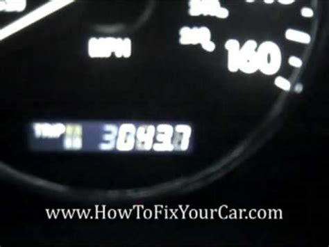 how to reset maintenance light on 2007 toyota camry how to reset maintenance light 2007 toyota avalon how to