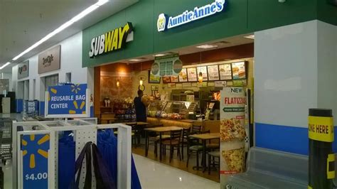 subway  walmart open  eat fresh late yelp