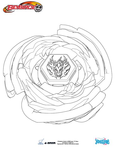 coloriage beyblade coloriageploofr