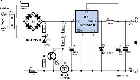 transformerless power supply    volts