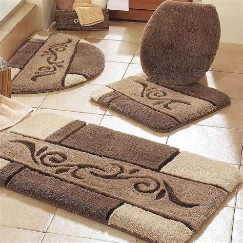 bathroom rug set the simple guide to choosing the best bathroom rugs ward