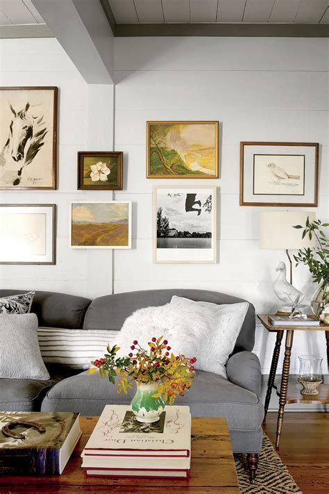 Decorating Living Room Walls - 15 ways with shiplap southern living