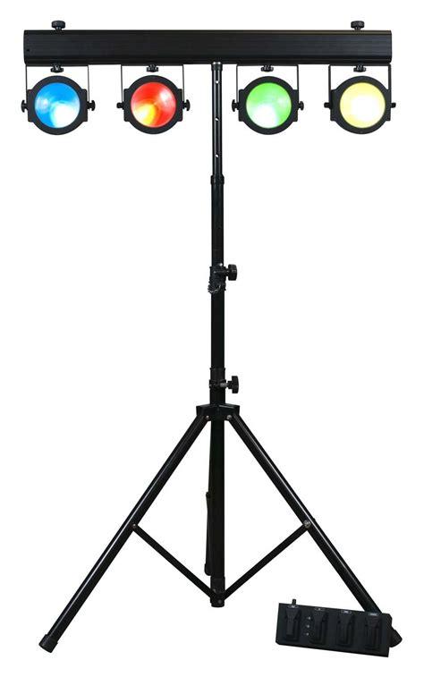 american dj light stand parts american dj dotz tpar system portable tri rgb led wash