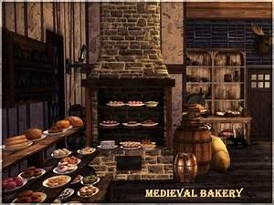 Medieval Bakery By Kiolometro At Sims Studio Sims 4 Updates