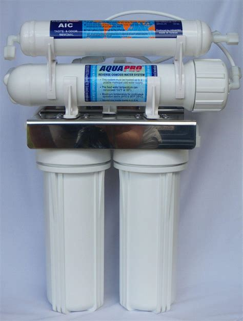 under sink ro aquapro reverse osmosis 4 stage under sink unit with