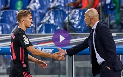Zidane: Odegaard Is Beloved And Will Succeed