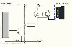 D105  Connecting The Meters With A Impulse Output    Main