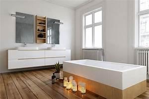 Bad Mit Holzboden : holzboden badezimmer ~ Michelbontemps.com Haus und Dekorationen