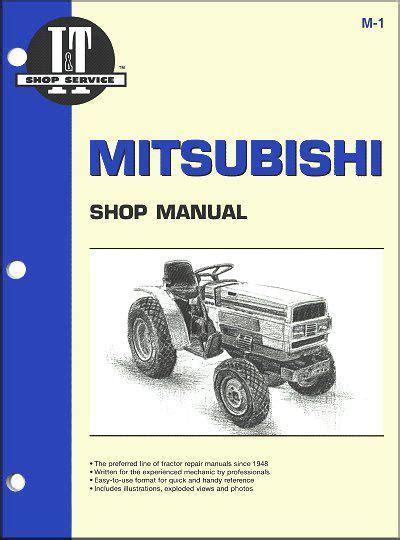 car engine manuals 1989 mitsubishi chariot navigation system mitsubishi diesel 1984 1991 tractor owners service repair manual 0872884422 9780872884427