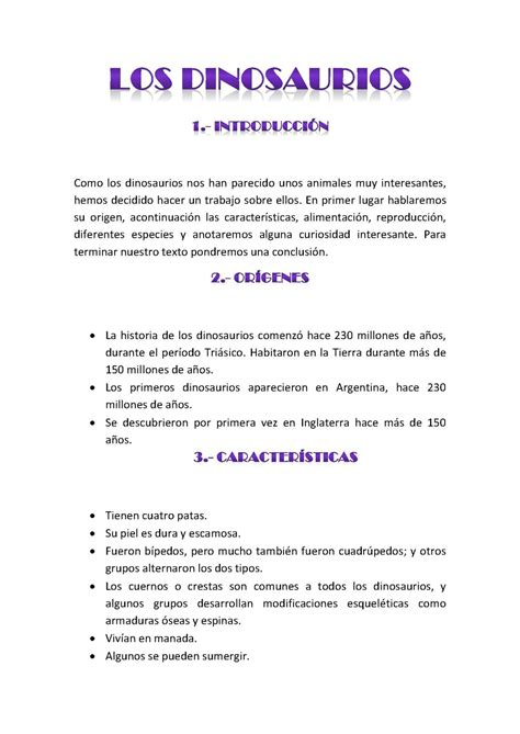 Animal Farm Resumen Corto by Calam 233 O Los Dinosaurios Texto Expositivo