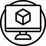 3d Icon Modeling Icons Computer
