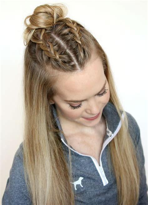 Top Half Knot Bun Hair Trend 2016 Latest Hairstyle Ideas