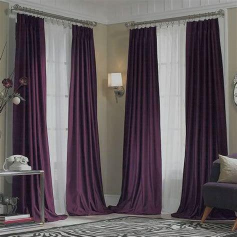 dark purple curtains  jcpenney supreme midnight