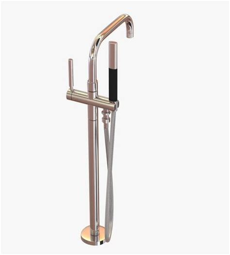 Kohler Freestanding Bath Filler kohler purist freestanding bath filler 3d model cgtrader