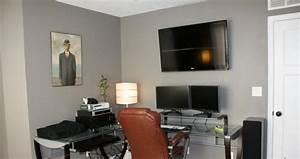 15 home office paint color ideas rilane With paint color ideas for home office