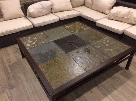 mesa centro fierro grande  brasero  rusti