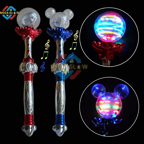 light up wand toy flashing light up stick spinning wand flashing princess