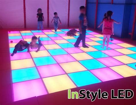 Children's LED Dance Floor   RGB lights change in time