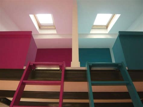 chambre sous combles couleurs avant après chambres sous les toits maisonapart