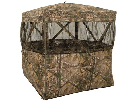 browning ground blinds browning mirage ground blind 59 x 59 x 66 polyester mpn
