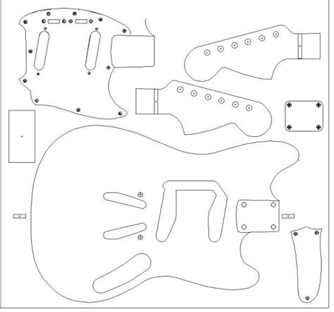 Stratocaster Routing Template by Stratocaster Routing Template 28 Images Trem King