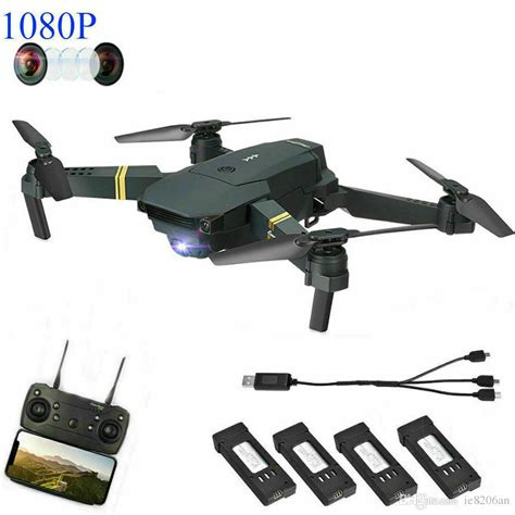 drone  pro foldable quadcopter wifi fpv  p hd camera  extra batteries