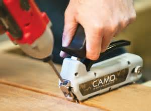 lowe s and home depot add camo hidden deck fastening