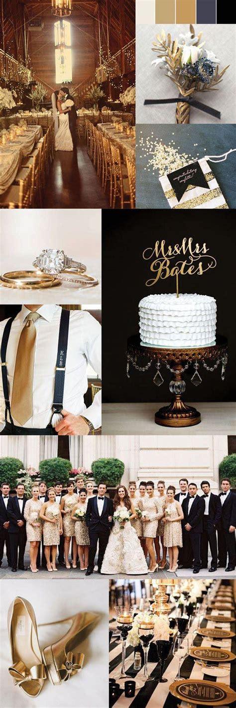 trendiest gold wedding ideas elegant glam
