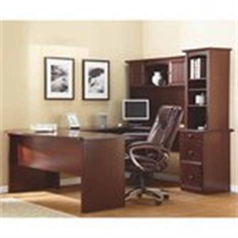 Realspace Broadstreet Contoured U Shaped Desk by Office Depot Deal Realspace Broadstreet Contoured U