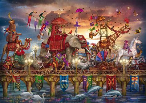 Reading the language and symbols of the cards. 91DEmq9j5BL._SL1500_.jpg (1500×1065)   Cirque, Puzzle en ...