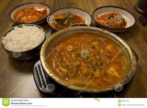 cuisine stock food cuisine kimchi restaurant stock images image