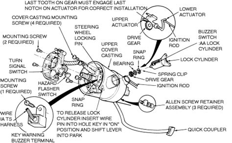 Ford Questions Ignition Lock Cylinder Replacement