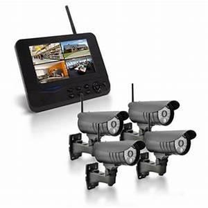Video Surveillance Sans Fil : camera de surveillance sans fil exterieur avec ecran ~ Dailycaller-alerts.com Idées de Décoration