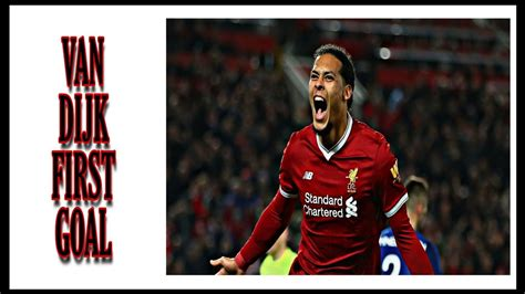 View liverpool fc squad and player information on the official website of the premier league. VIRGIL VAN DIJK - First goal liverpool fc - YouTube