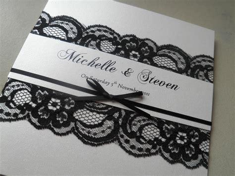 lace wedding invitation random lace wedding