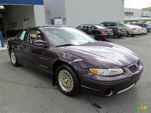 Medium Purple Metallic 1998 Pontiac Grand Prix Gt Coupe