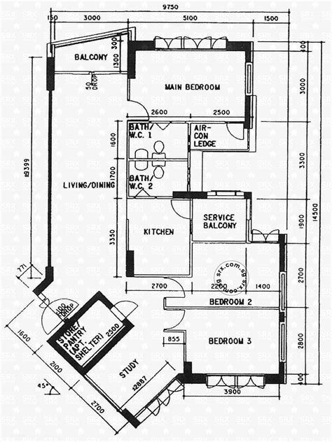 Floor Plans For Depot Road Hdb Details  Srx Property