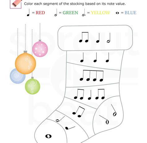 worksheets holidays note value 002 violin worksheets worksheets and